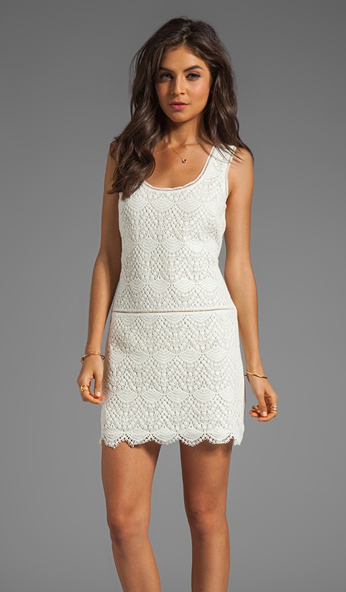 Crochet Lace Tank Dress