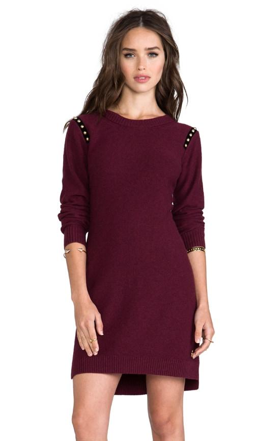 Dress with Studded Shoulder