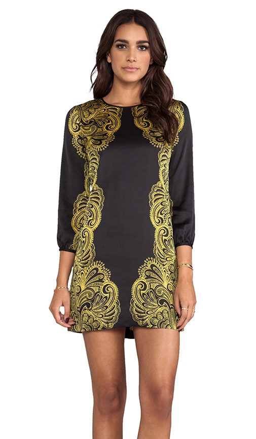 Bohemian Paisley Dress