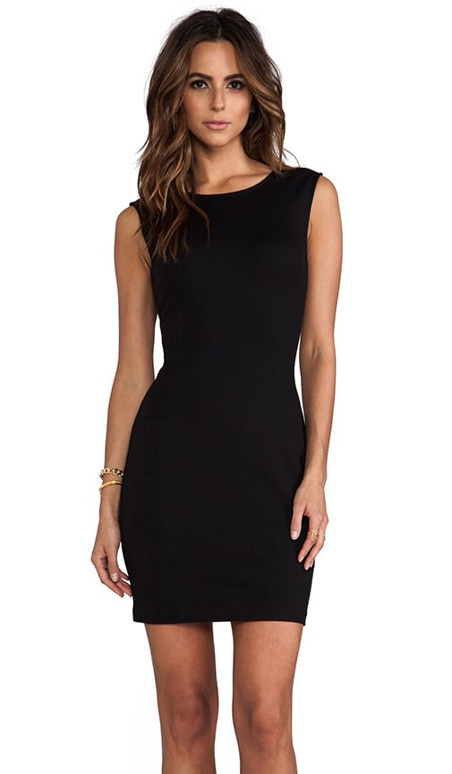 Solid Ponte Dress