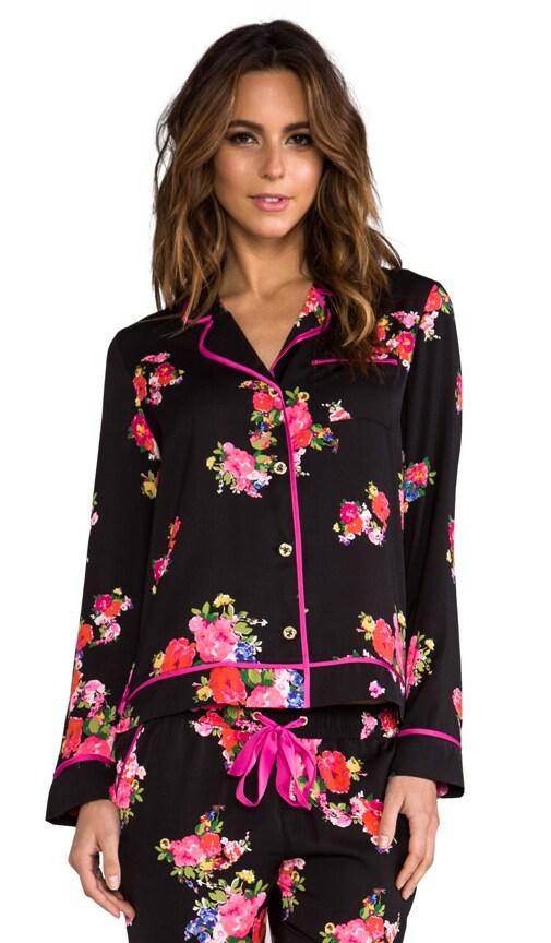 Jazzy Floral PJ Top