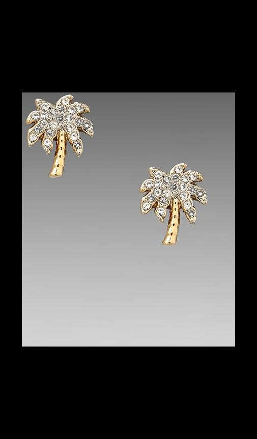 Palm Tree Stud Earring
