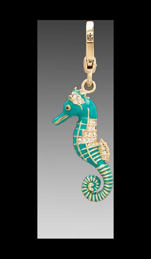 Blue Seahorse Charm
