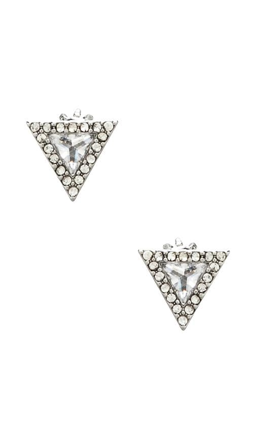 Pave Triangle Stud