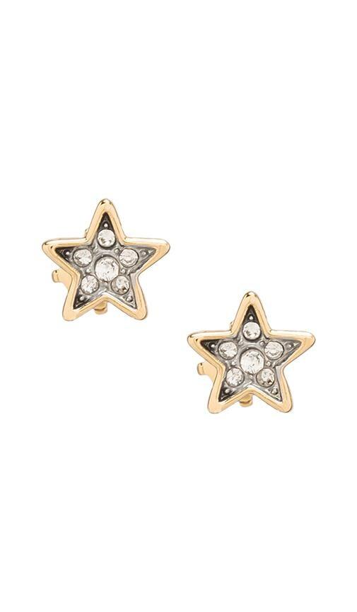 Pave Star Studs
