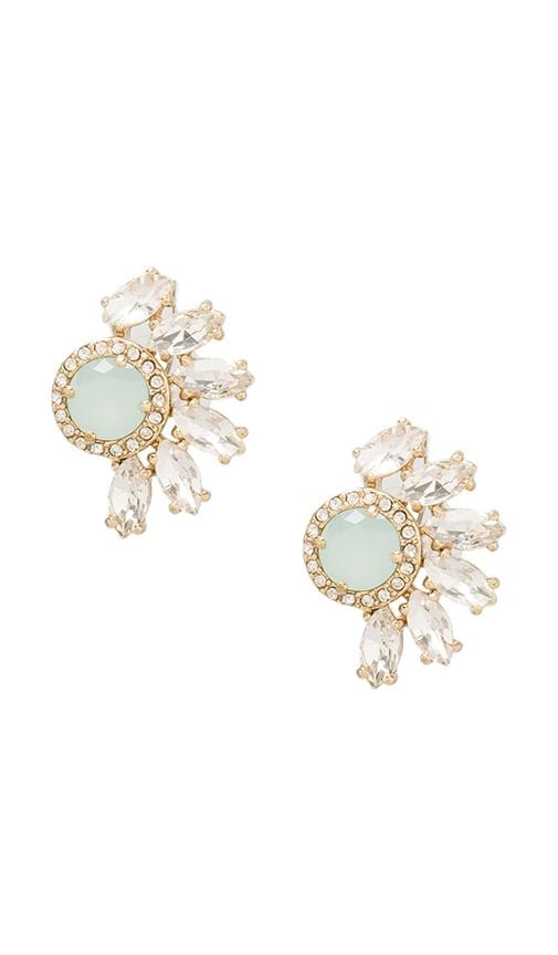 Marquise Cluster Rhinestone Studs