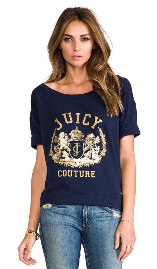 Fleece Graphic Pullover Sweatshirt