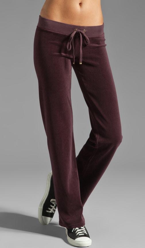 Velour Original Leg Pant