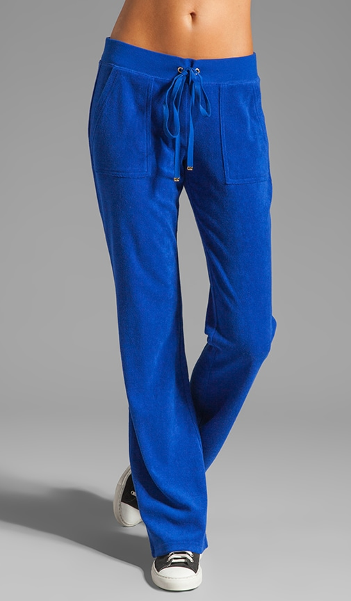 Terry Snap Pocket Pant