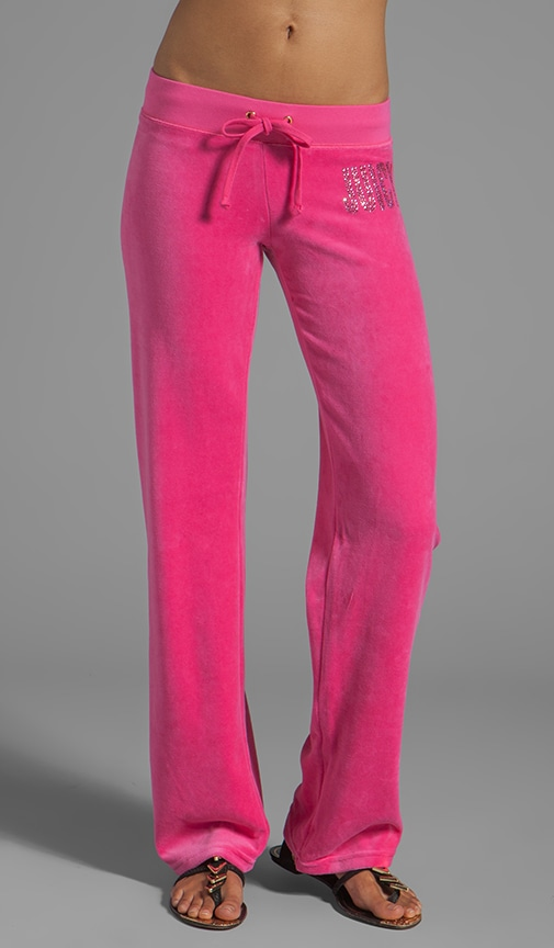 Velour Choose Juicy Sweatpant