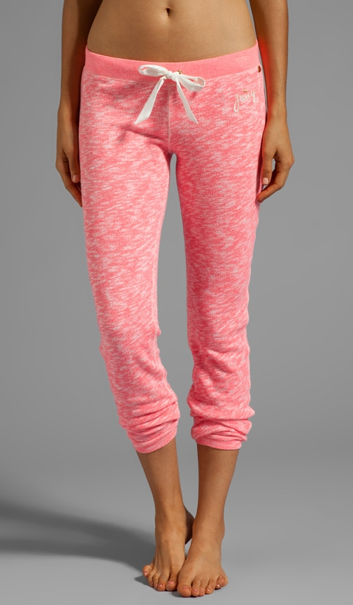 Marled French Terry Pant