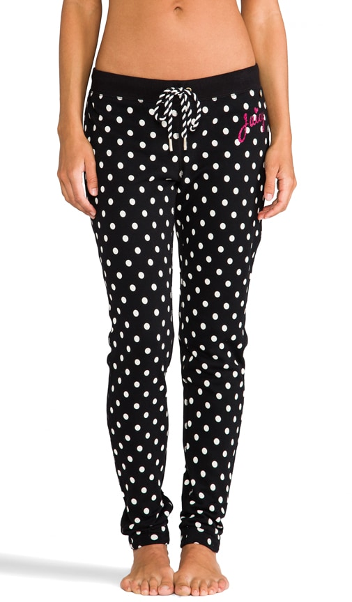 Polka Dot French Terry Pant
