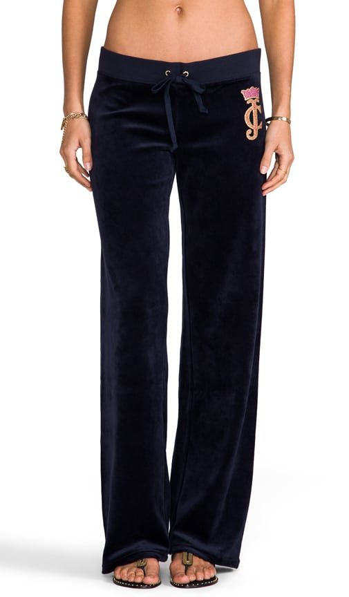 Crown Cameo Velour Pant