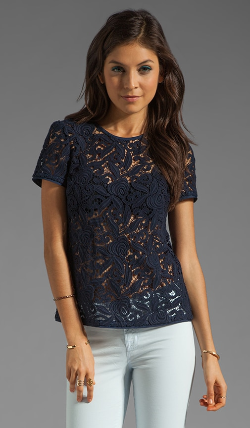 Guipuere Lace Top