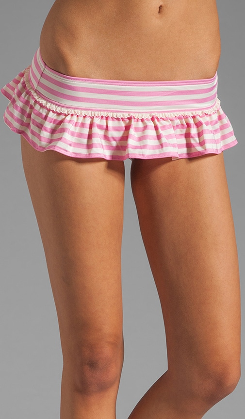Boudoir Stripe Skirted Bottom