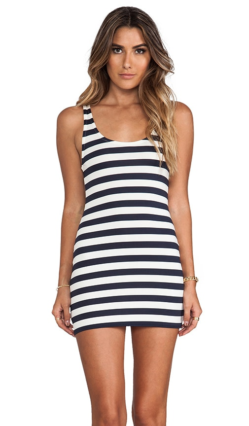 Boho Stripe Cover Up Dress