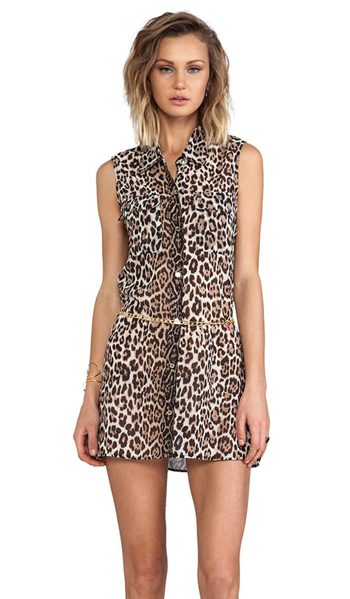 Luxe Leopard Cover Up Dress
