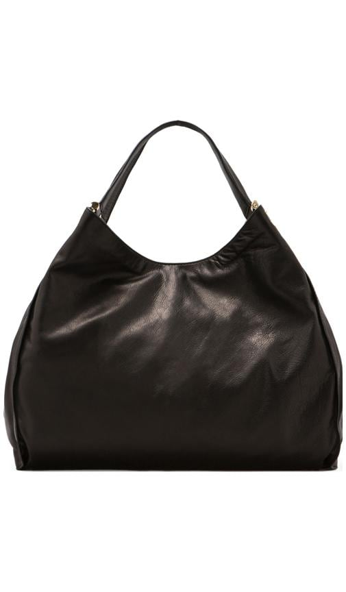 Topanga Leather Large Tote