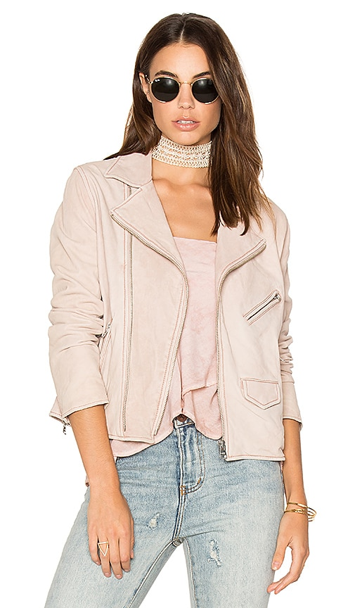 June Vintage MC Jacket in Pink