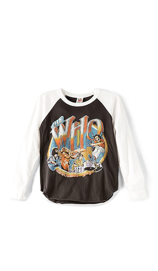 Junk Food The Who Baseball Tee in Black