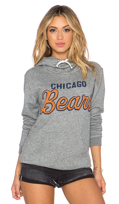Junk Food Bears Sunday Hoodie in Heather Grey