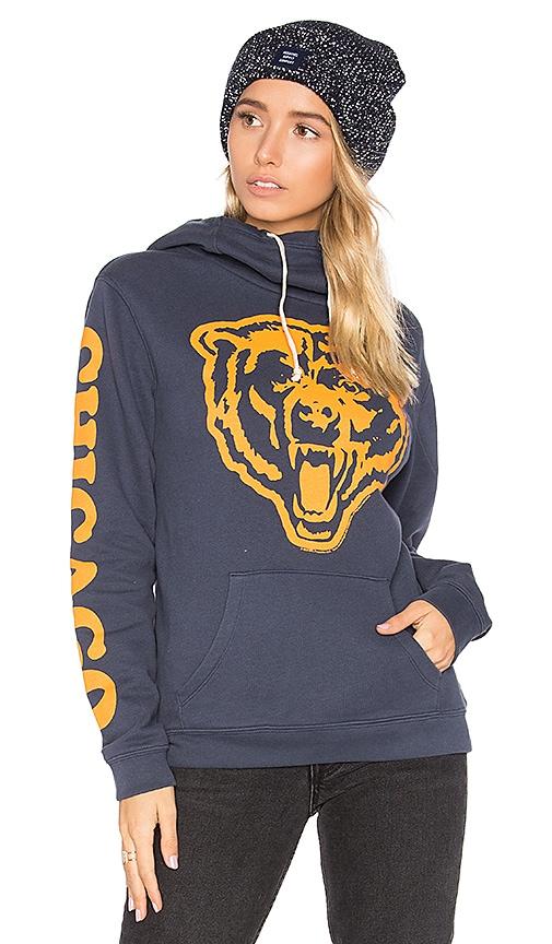 Junk Food Bears Mascot Hoodie in Blue