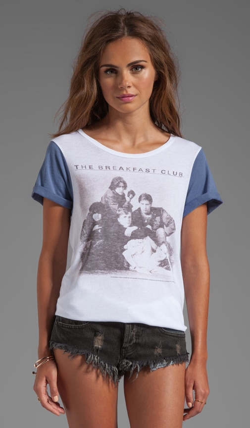 Breakfast Club Color-Block Tee
