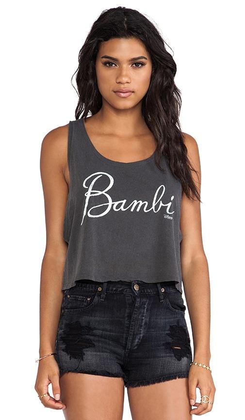 Bambi Bohemian Cropped Tank