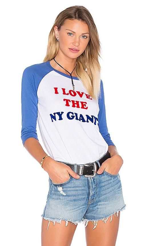 I Love You NY Giants Tee