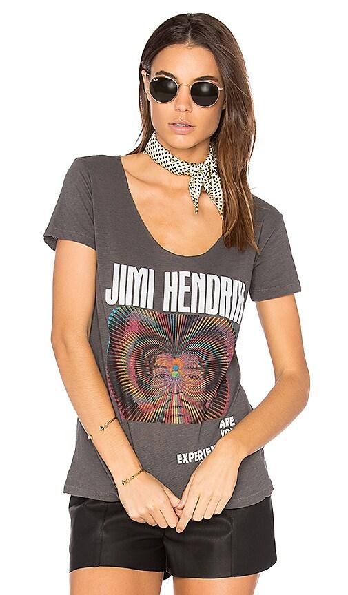 Junk Food Jimi Hendrix Experience Tee in Black