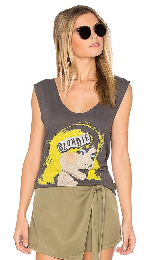 Junk Food Blondie Tee in Black