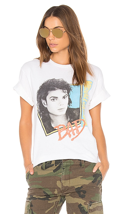 Junk Food Michael Jackson Sold Out Tee in White