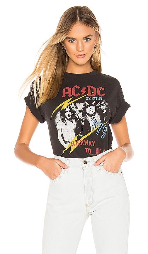 CAMISETA DE BANDA AC/DC