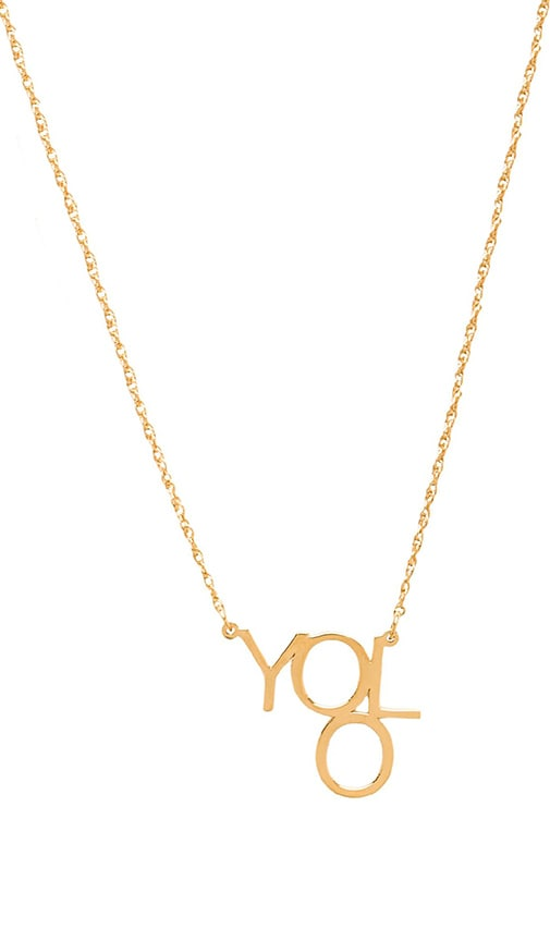 Block YOLO Necklace