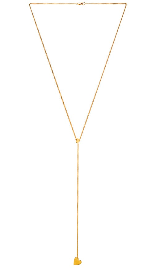 COLLIER LARIAT DOUBLE CŒUR