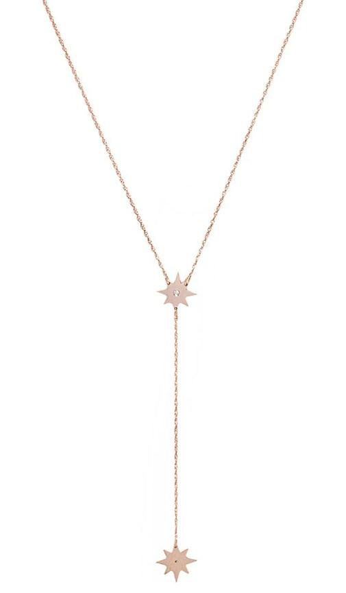 Gia Mini Lariat Necklace