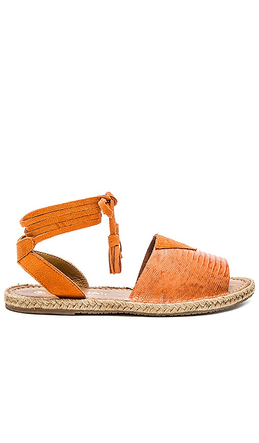 Kaanas Grenada Sandal in Orange