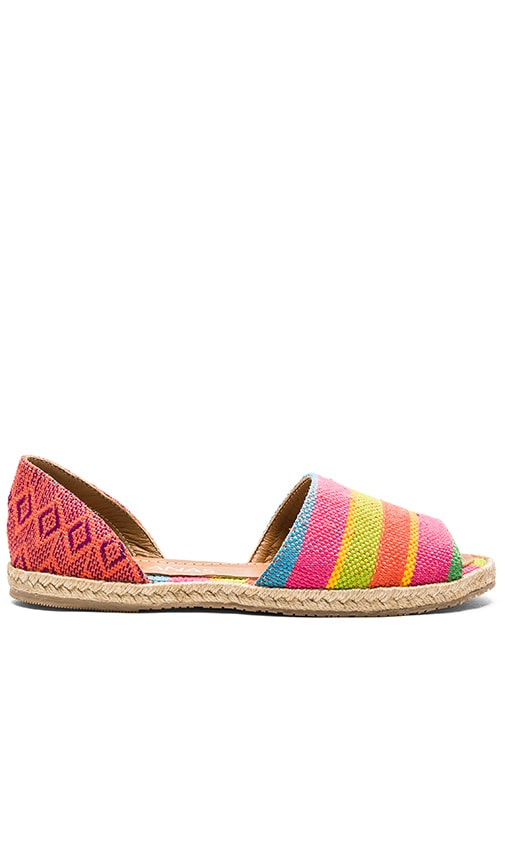 Kaanas Acacia Espadrille in Pink