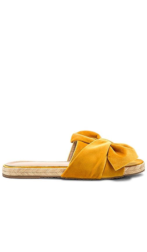 Kaanas Sausalito Sandal in Mustard