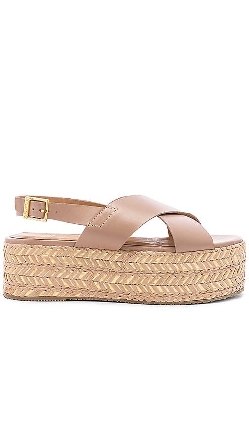 Metalik Ada Cross Over Sandal