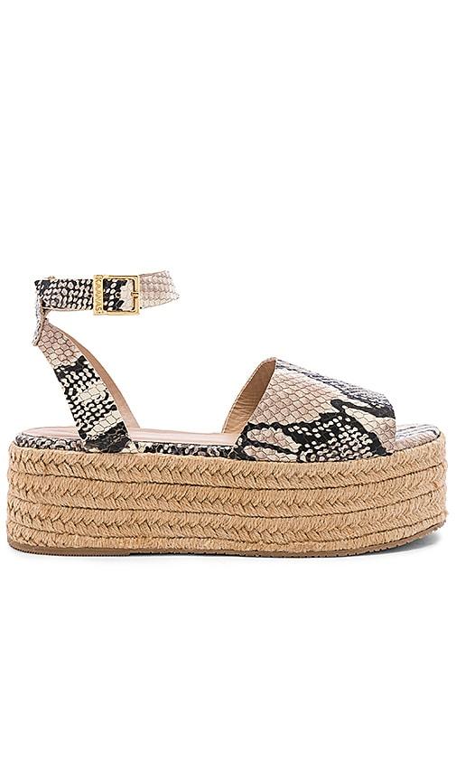 Trinidad Snake Platform Sandal