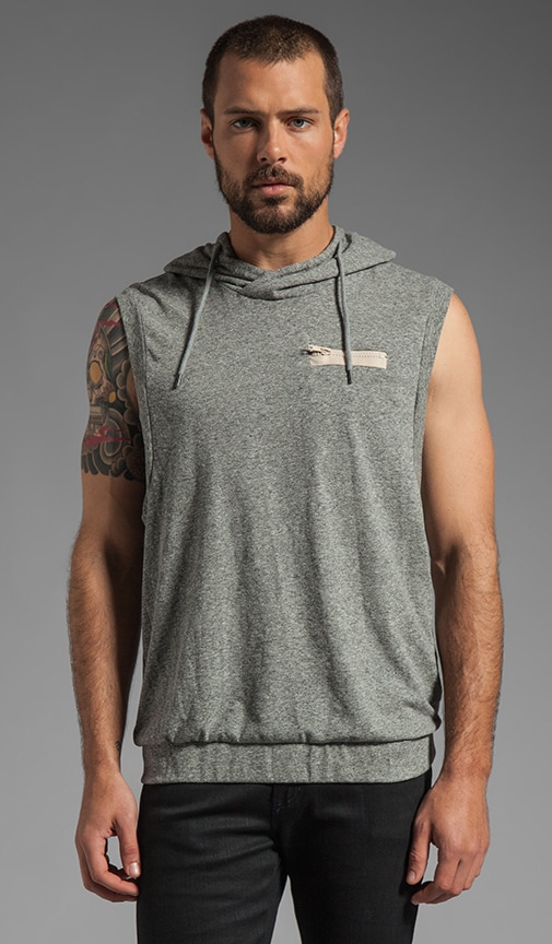 Sleeveless Crew Top