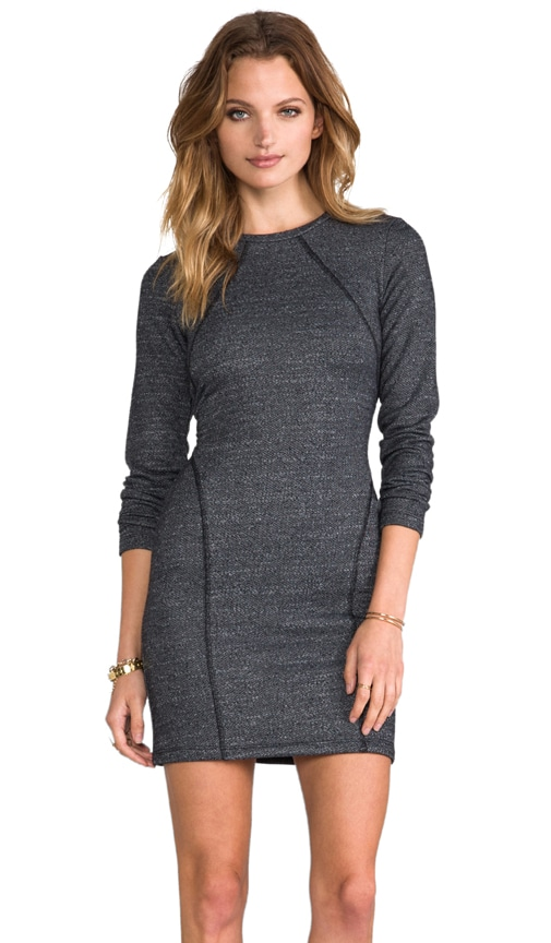 Boucle Terry Churchill Sweatshirt Dress