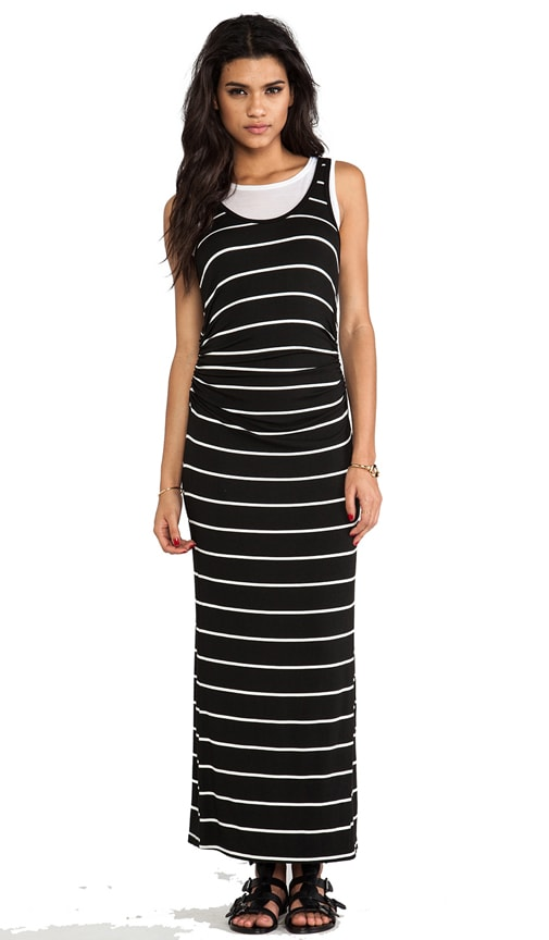 Double Layered Astrid Maxi Dress