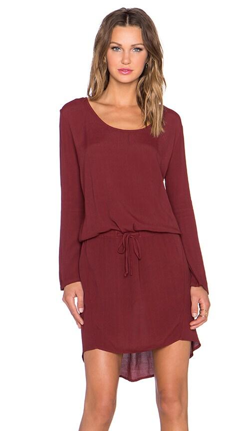Kain Nori Dress in Ruby