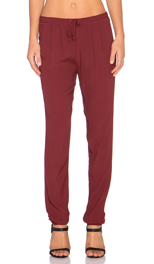 Kain Barkley Pant in Ruby