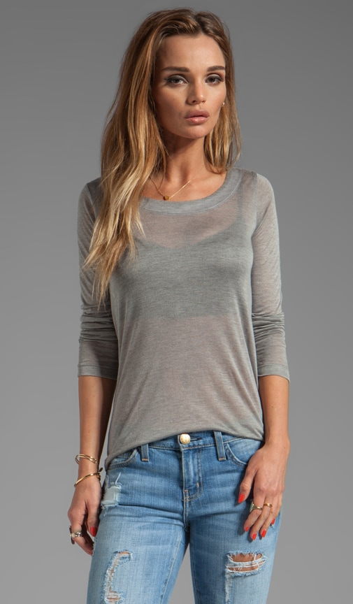 Sheer Jersey Torrey Long Sleeve