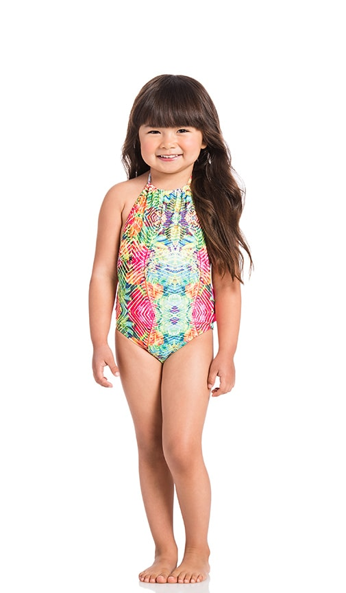Mini Amazon Ruffle One Piece