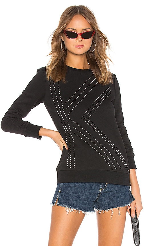 K Studded Sweater