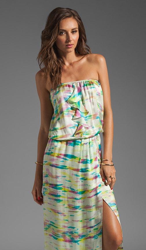 Bessy Print Maxi Dress